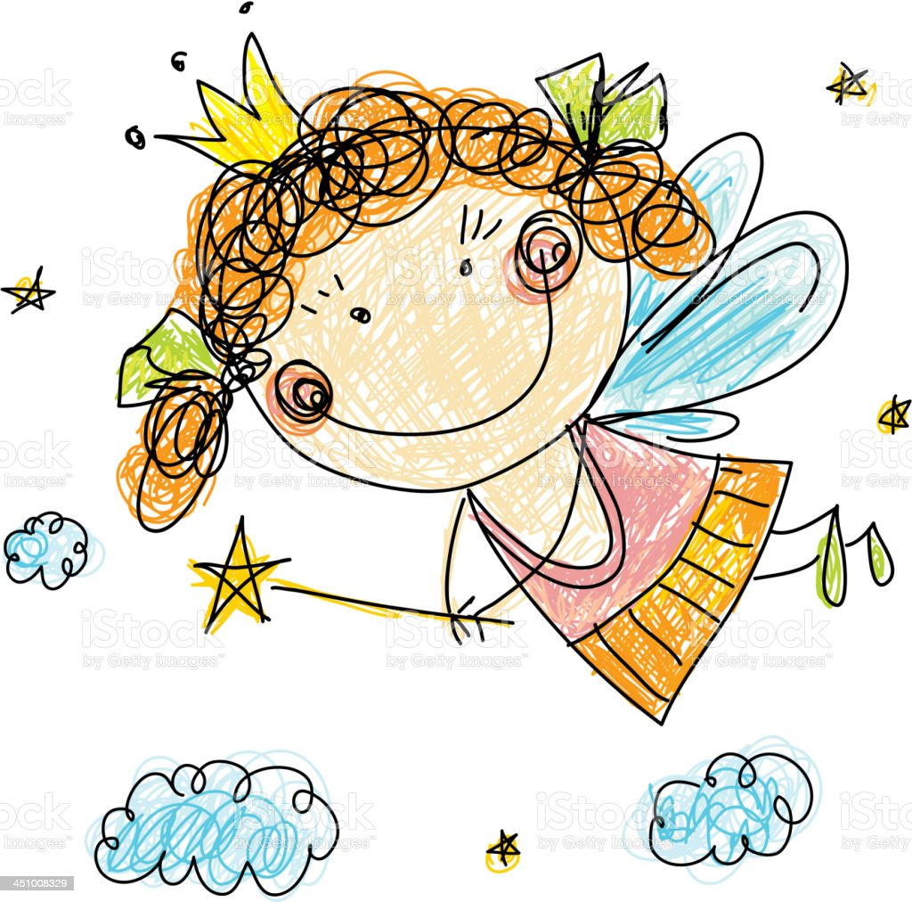 Fairy royalty-free fairy stock vector art & more images of anthropomorphic smiley face