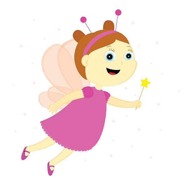 fairy - tinkerbell stock-grafiken, -clipart, -cartoons und -symbole