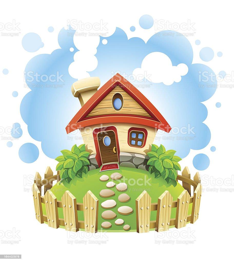 сказочный домик картинка