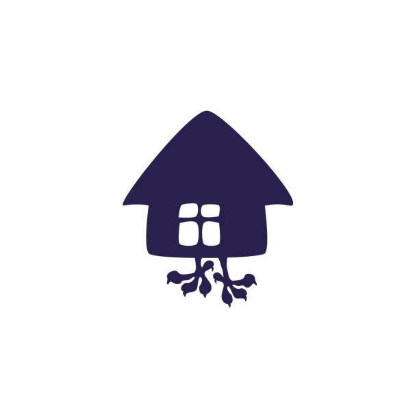 Hut House Logo: Royalty Free Old Shack Clip Art, Vector Images