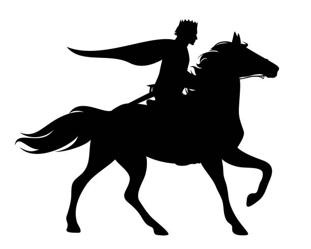 Prinz auf pferd