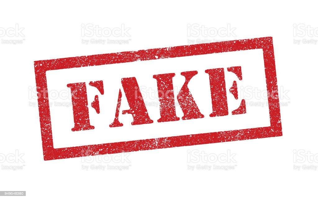 Fake ink stamp fake ink stamp - immagini vettoriali stock e altre immagini di allarme royalty-free