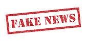 Fake news ink stamp