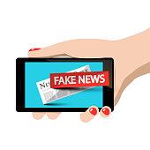 Fake News Symbol