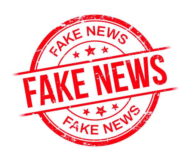 Fake News Fake news stamp. artificial stock illustrations