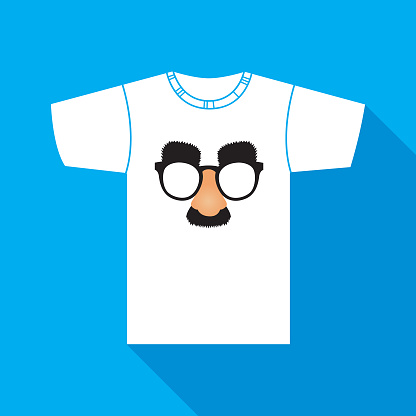 Fake Nose And Mustache TShirt