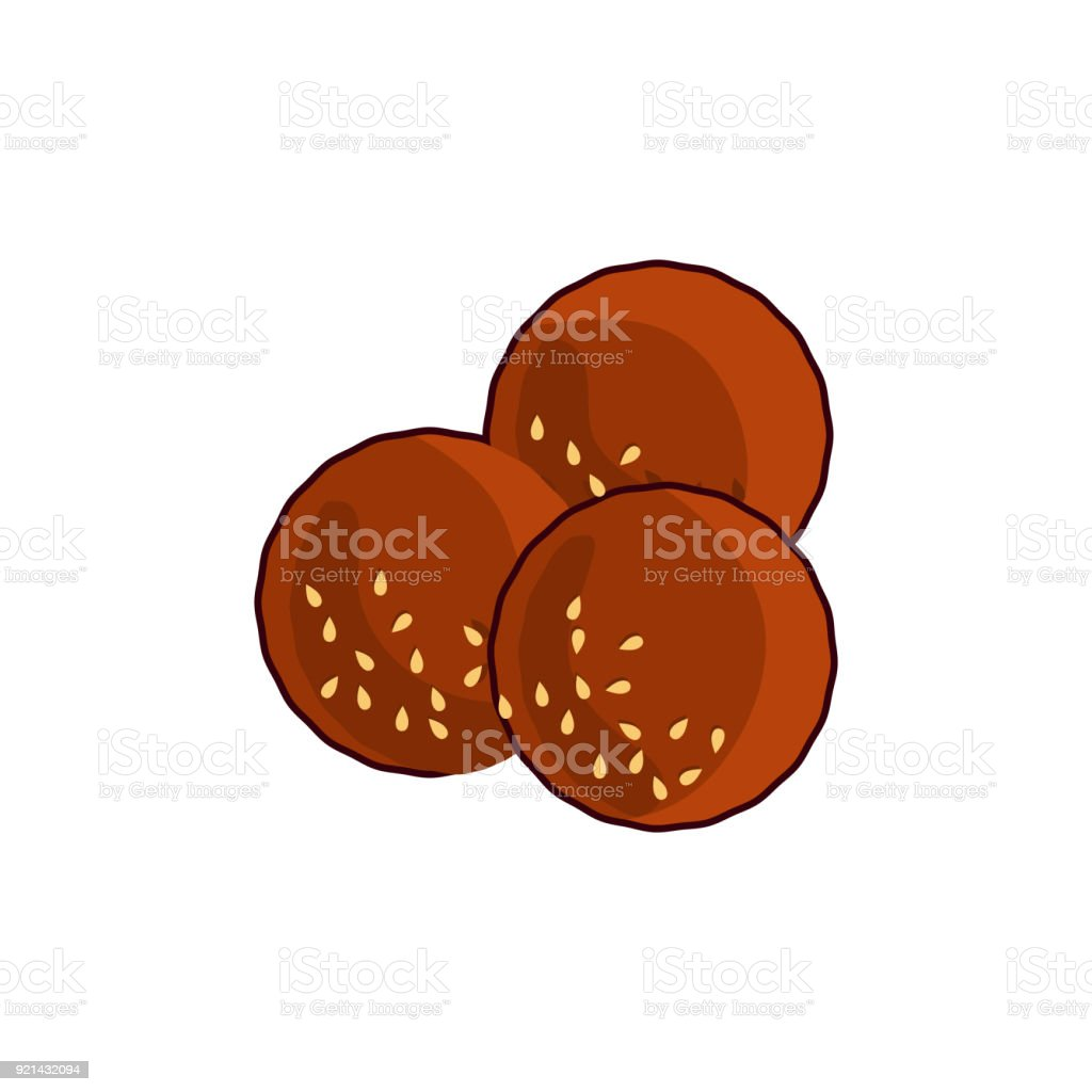 Royalty Free Middle Eastern Food Clip Art, Vector Images ... Falafel Clipart