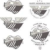 Free picture: flag, patriotism, United States, monochrome