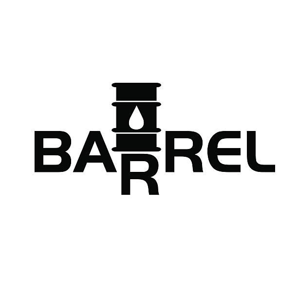 fall und aufstieg der öl barrel preise - fallrohr stock-grafiken, -clipart, -cartoons und -symbole