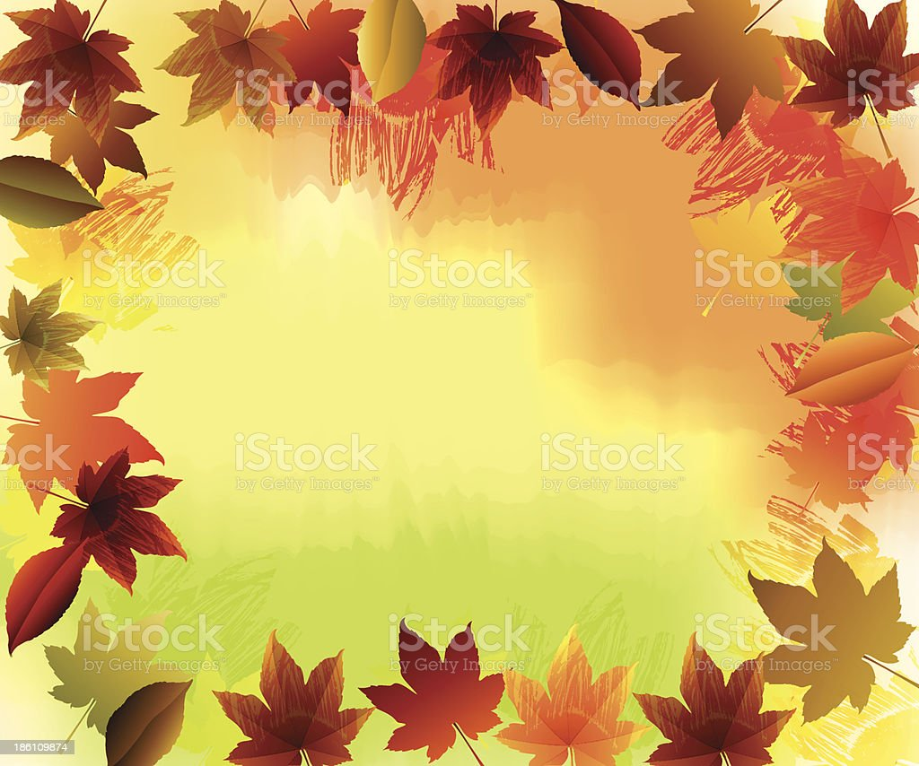 Fall Background royalty-free fall background stock vector art & more images of autumn