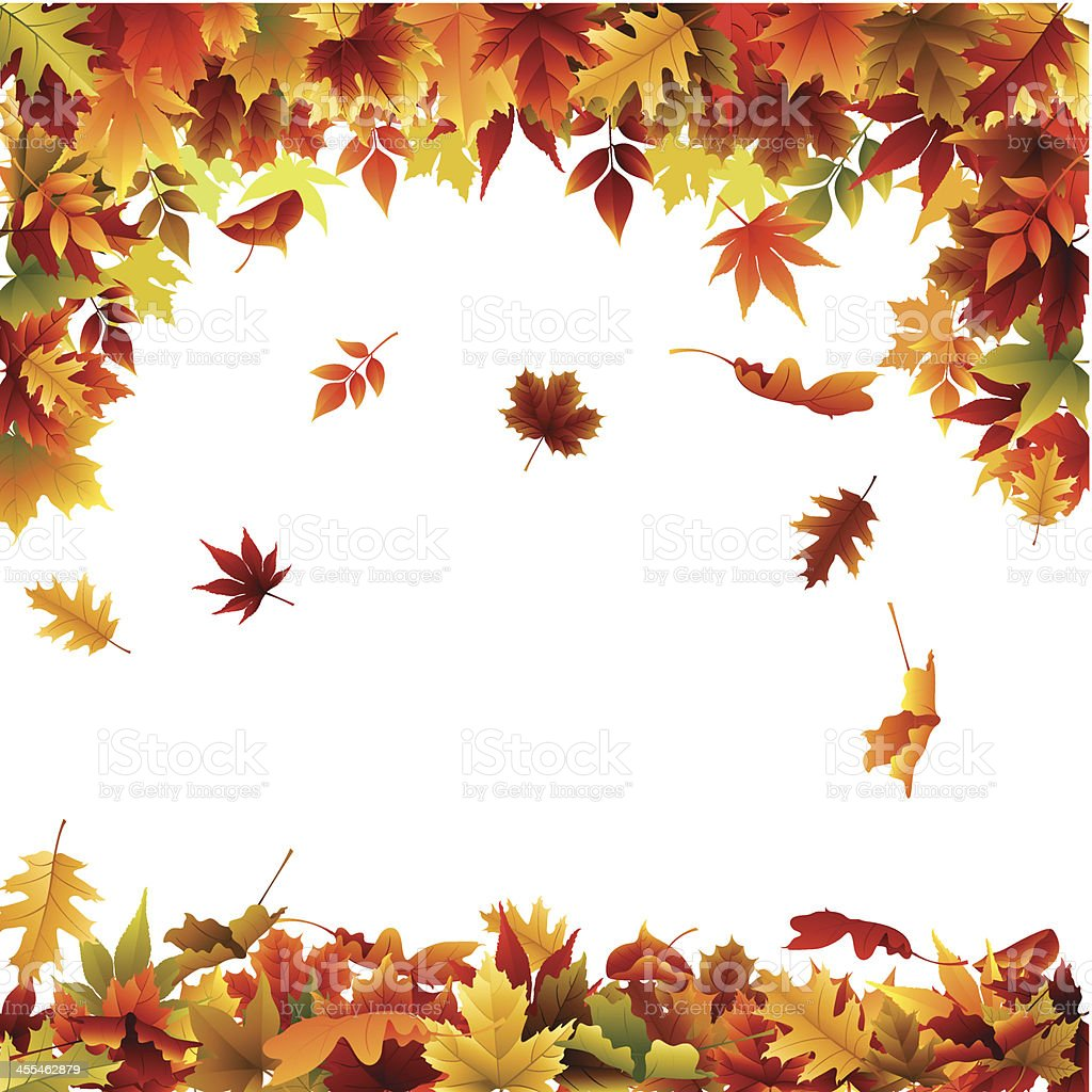 fall background stock vector art more images of autumn 455462879