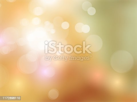 837011202 istock photo Fall colors background - abstract autumn color gradient with sparkling bokeh lights 1172898110