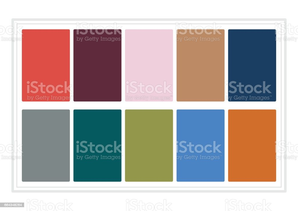 Fall Colors For 2017 Colors Of The Year Palette Fashion Colors