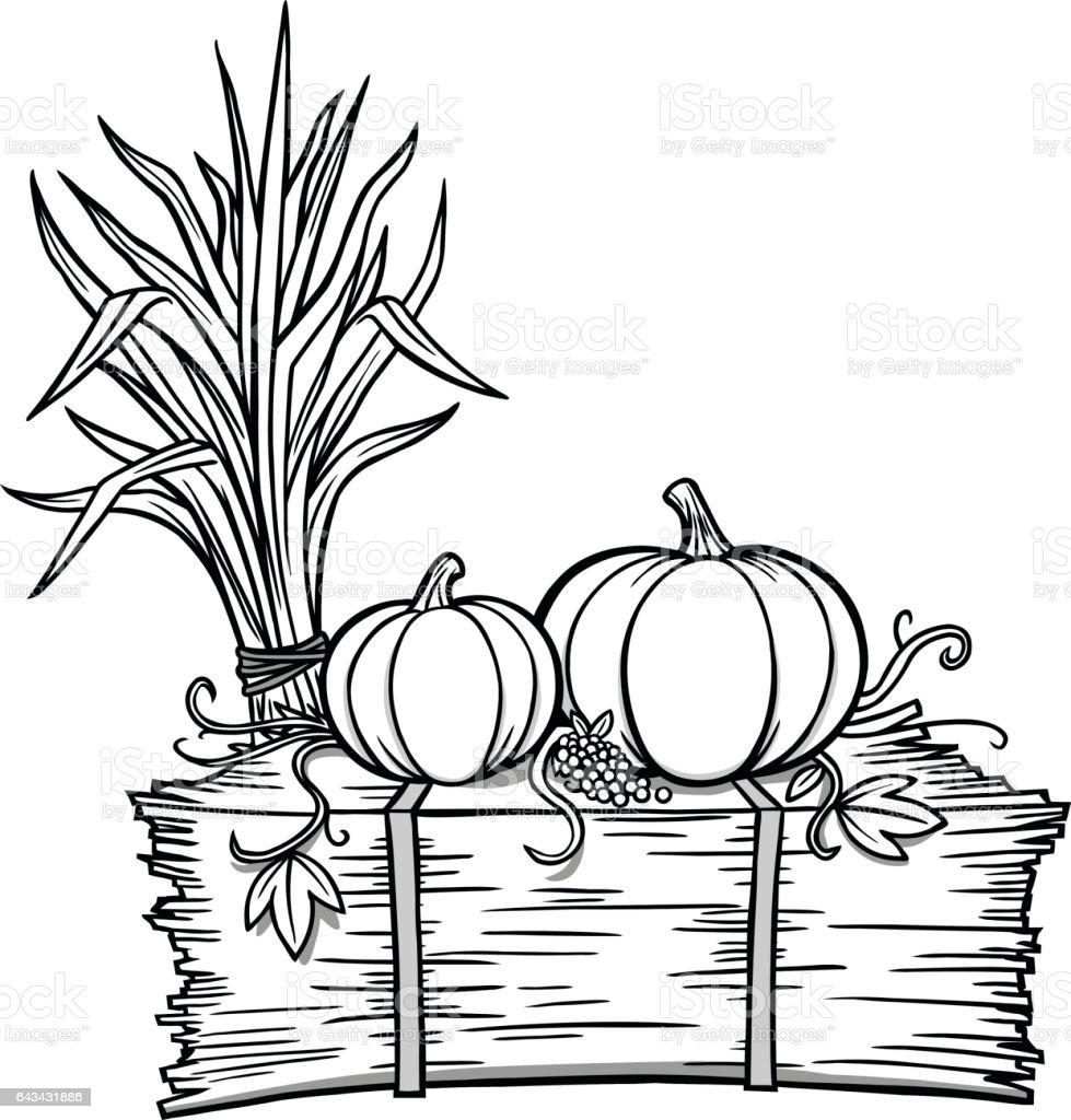 Fall Festival Illustration vector art illustration