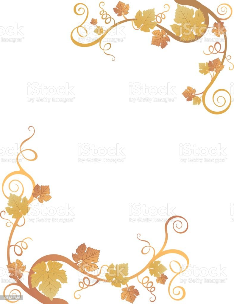 Fall Leaf Border royalty-free fall leaf border stock vector art & more images of autumn
