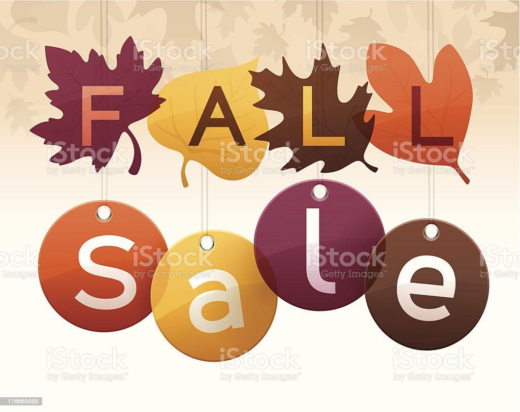 Otoño de venta ilustración de otoño de venta y más banco de imágenes de abstracto libre de derechos