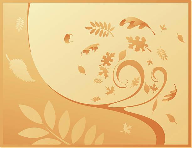 Fall Season Background vektorkonstillustration
