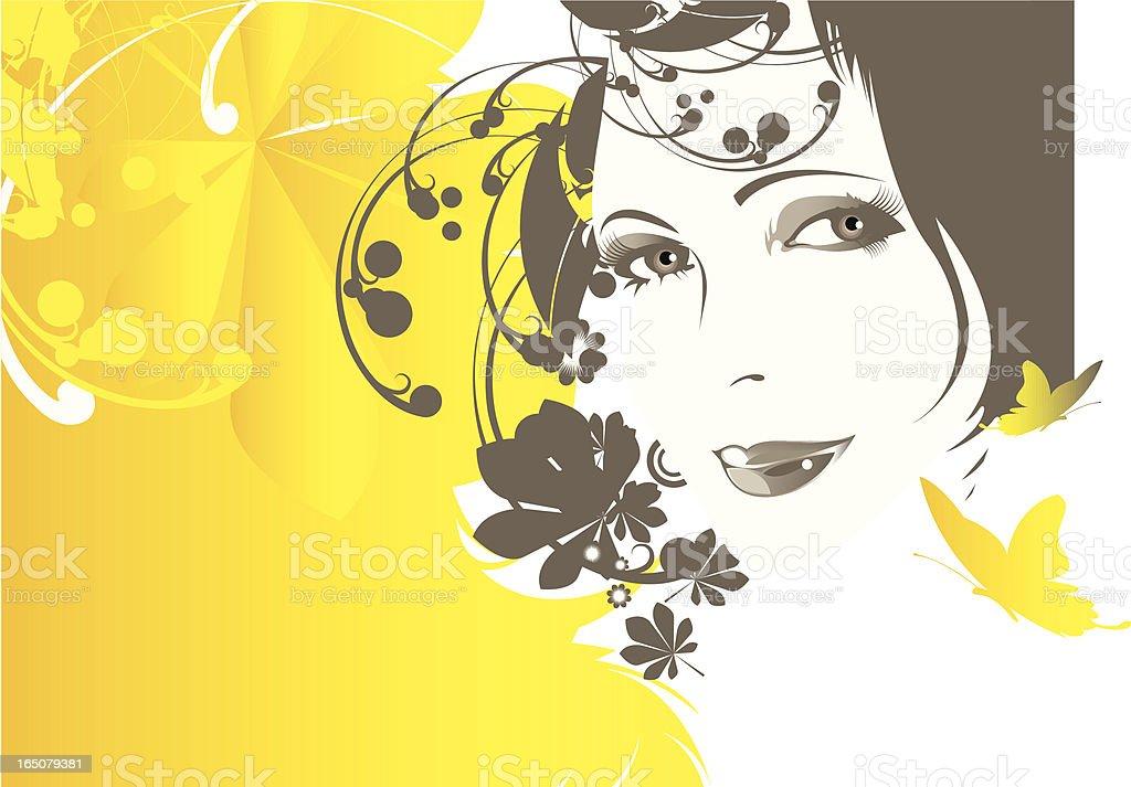 Fall. vector art illustration