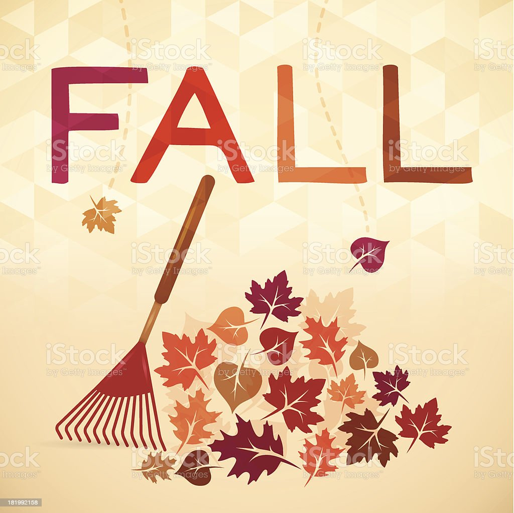Fall vector art illustration
