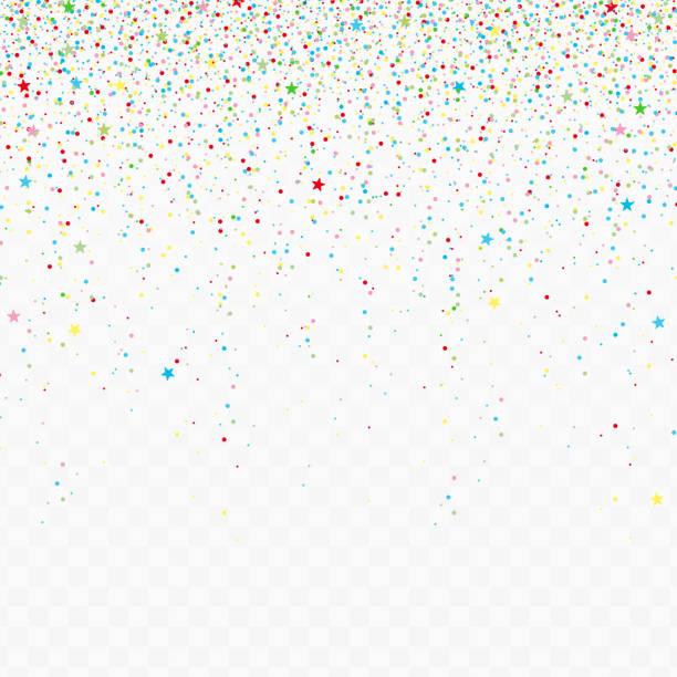 bildbanksillustrationer, clip art samt tecknat material och ikoner med fallande konfetti bitar. - paper mass