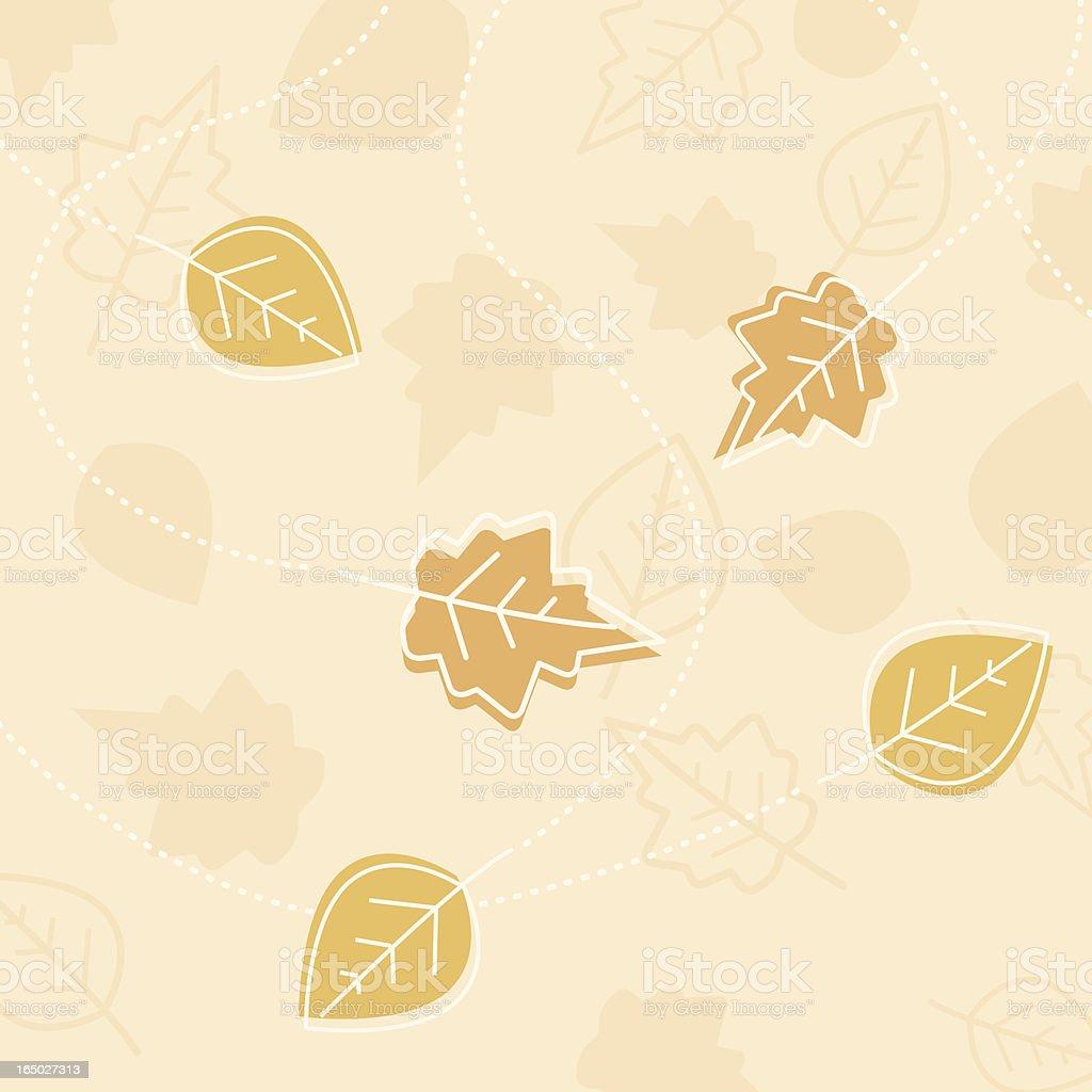 falling leaves royalty-free stock vector art