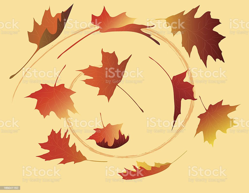 Falling leaves royalty-free falling leaves stock vector art & more images of autumn