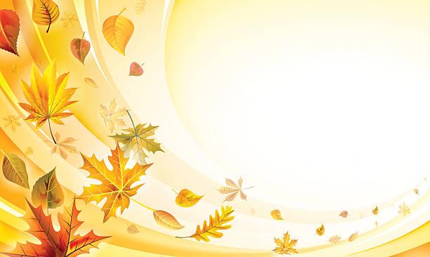 falling リーブズ  - ホリデーシーズンと季節のフレーム点のイラスト素材/クリップアート素材/マンガ素材/アイコン素材