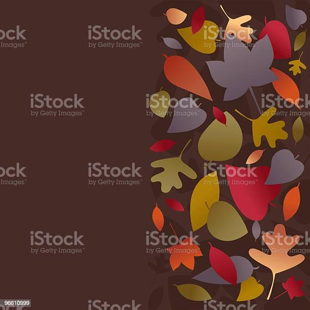 Falling Leaves Stockvectorkunst en meer beelden van Achtergrond - Thema