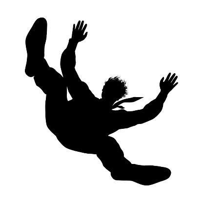 Falling Man Stock Illustration - Download Image Now - iStock