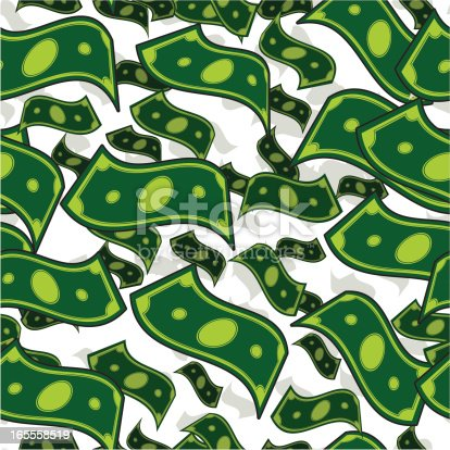 Its raining money. Step and repeat this seamless design for a bottomless pit of loot.