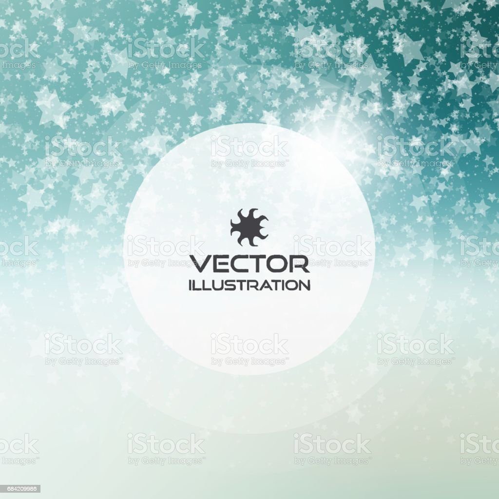 Falling snow background. Abstract snowflake pattern. Vector illustration. royalty-free falling snow background abstract snowflake pattern vector illustration stock vector art & more images of abstract