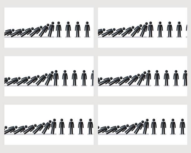 孤立在白色背景上的下降堅持數位動畫雪碧 - gif 幅插畫檔、美工圖案、卡通及圖標