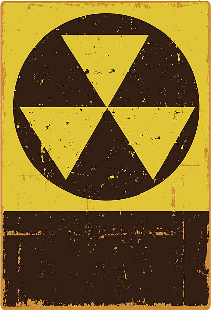 Fallout Shelter Sign Editable vector file. ai8 eps and 300 dpi jpg files included. bomb shelter stock illustrations