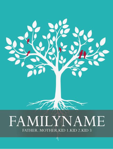 illustrations, cliparts, dessins animés et icônes de familien-stammbaum - arbres généalogiques