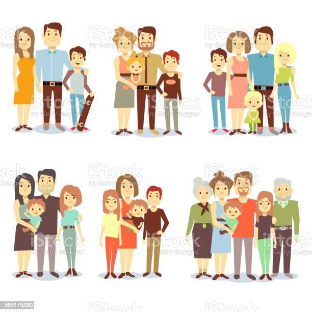 Families different types flat vector icons set vector id585175390?b=1&k=6&m=585175390&s=612x612&h=jcfigbojc4zysgnsivi6tavbdon9c9jfiyltup91qpc=