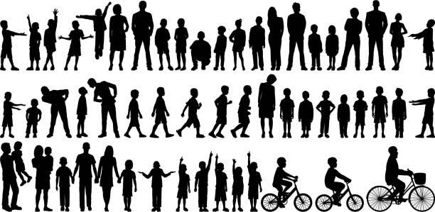 familien - kind stock-grafiken, -clipart, -cartoons und -symbole