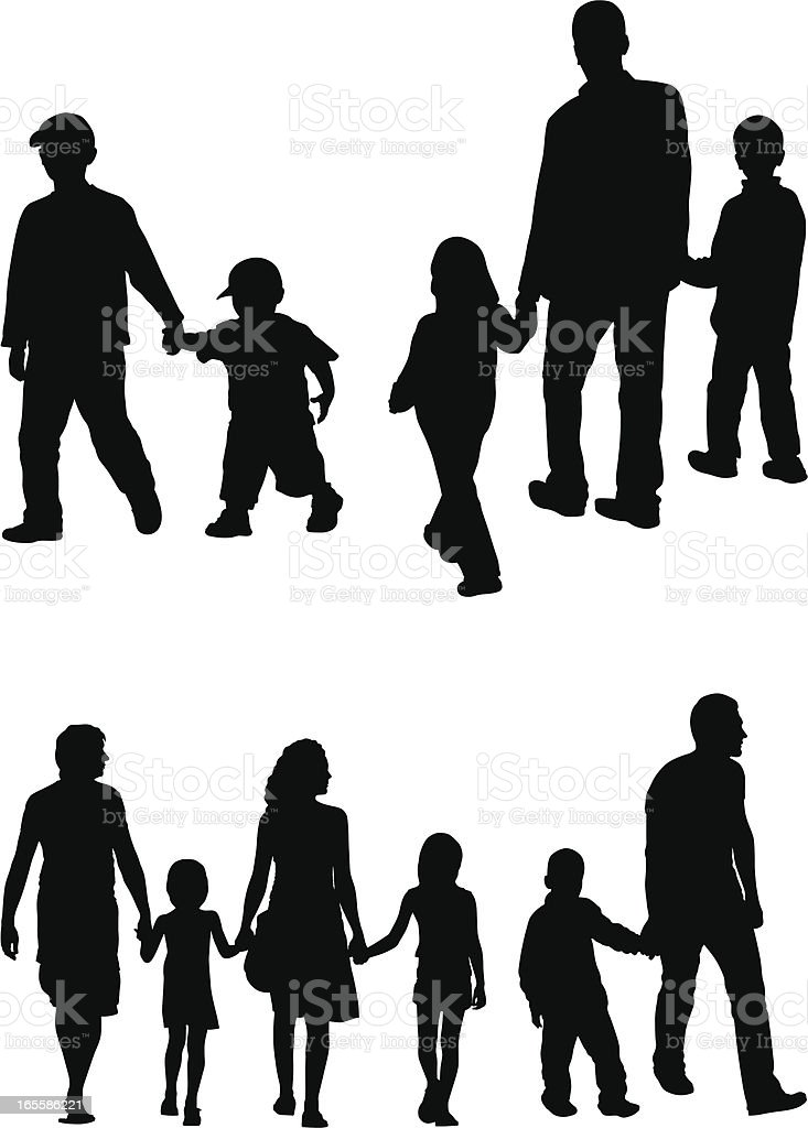 Families royalty-free families stock vector art & more images of adult