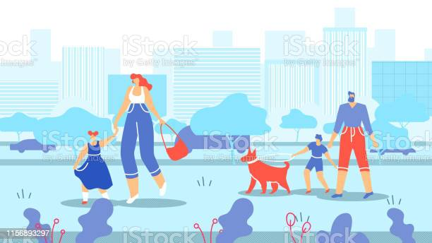 Families with children and animals walk in city vector id1156893297?b=1&k=6&m=1156893297&s=612x612&h=3kvfsztju95kzfn93faf6o0qxwuljwzdkmkkoitjbpo=