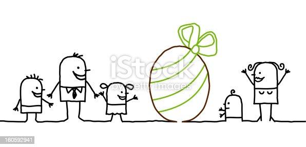 istock family & Easter 160592941