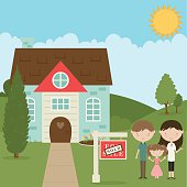 Family Buys New Home