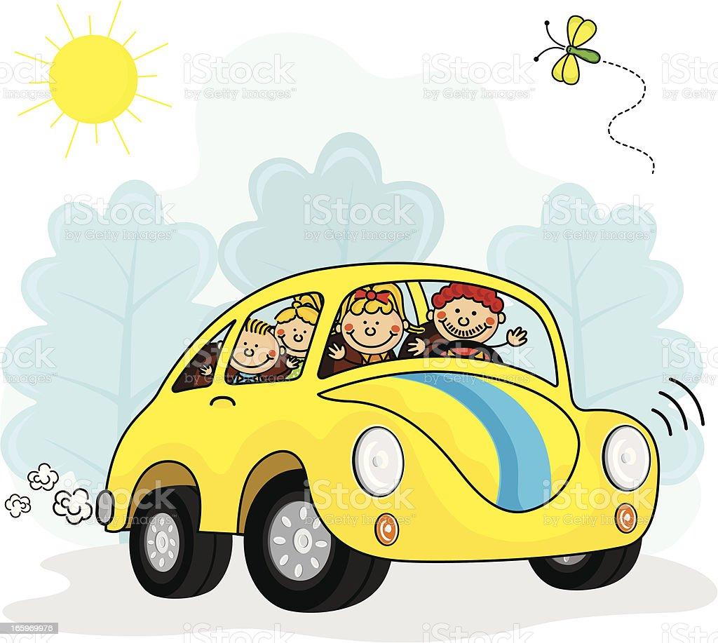 Family Car Kids