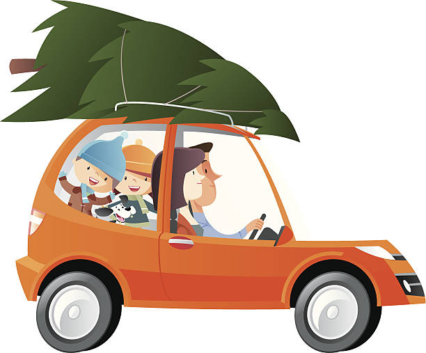 Royalty Free Family Car Clip Art, Vector Images ...Family Car Clipart