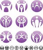 Family | Circle symbolic set
