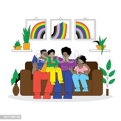 istock LGBTQIA family concept 1322498135