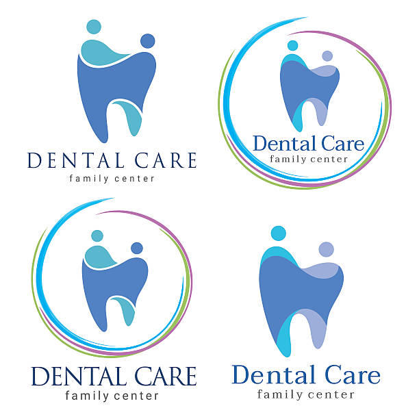 family dental - Illustration vectorielle