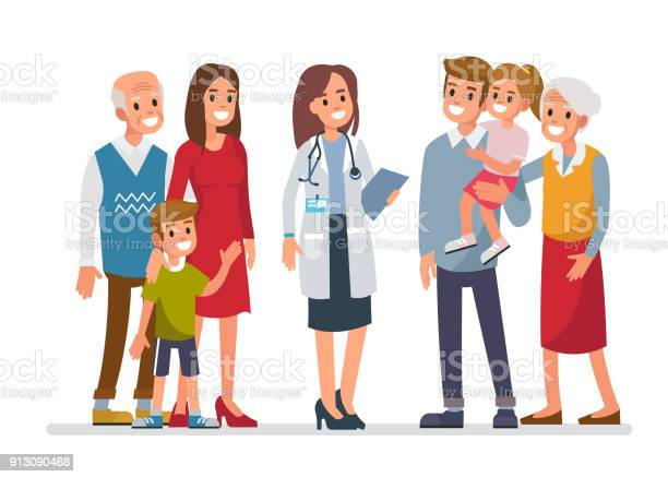 Family doctor vector id913090468?b=1&k=6&m=913090468&s=612x612&h= mazjfl6uvguolpc9kxwj8icrwy p99twxq6b5ywgro=