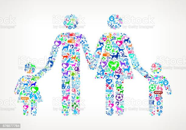 Family dog and canine pet colorful icon pattern vector id576577764?b=1&k=6&m=576577764&s=612x612&h=9xjmty9d9xq qktn7ykjkjjhuwmbd6lhv6zws hhumc=