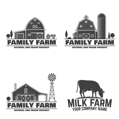 Family Farm Badges or Labels