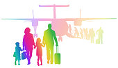Family Flights Rainbow