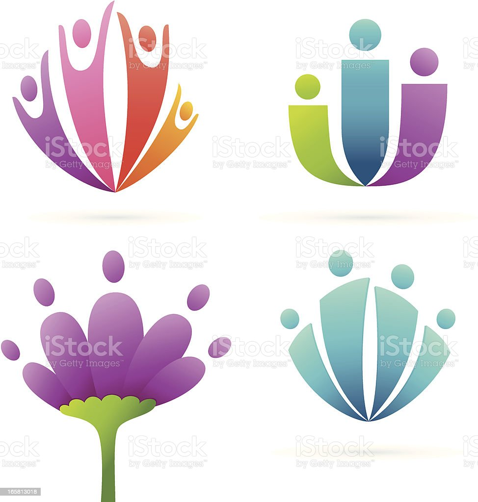 Family flower royalty-free family flower stock vector art & more images of adult